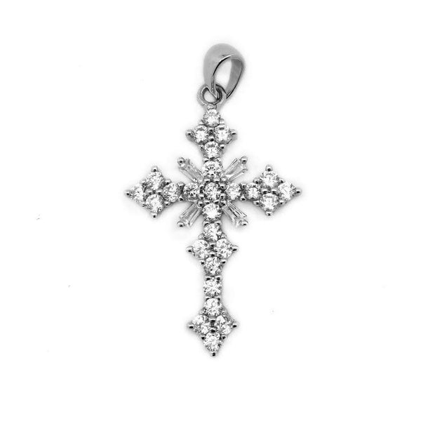 ELEGANT STERLING SILVER CROSS PENDANT - Atlanta Jewelers Supply