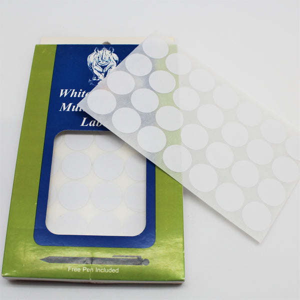 Tyvek Circle Self Adhesive Labels - Atlanta Jewelers Supply