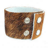 Cowhide Leather Cuff Bracelets atlanta-jewelers-supply.myshopify.com