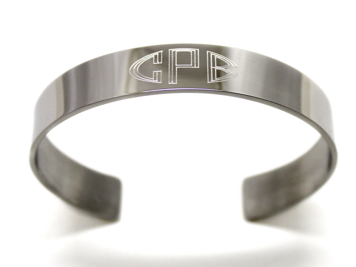 Stainless Steel Engravable Cuff Bracelet atlanta-jewelers-supply.myshopify.com
