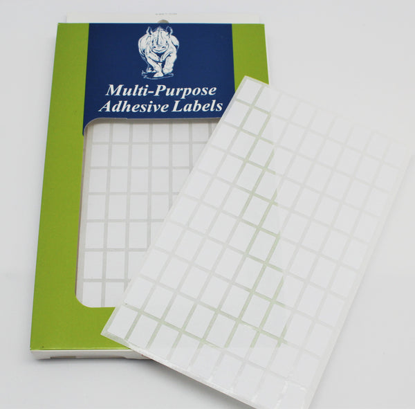 Tyvek Rectangle Self Adhesive Labels - Atlanta Jewelers Supply
