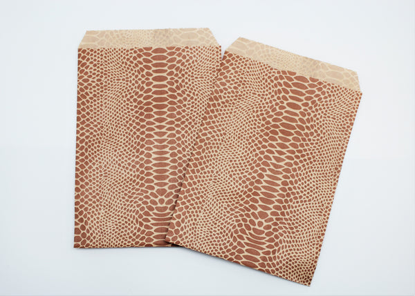 Snake Skin Paper Bags - Atlanta Jewelers Supply