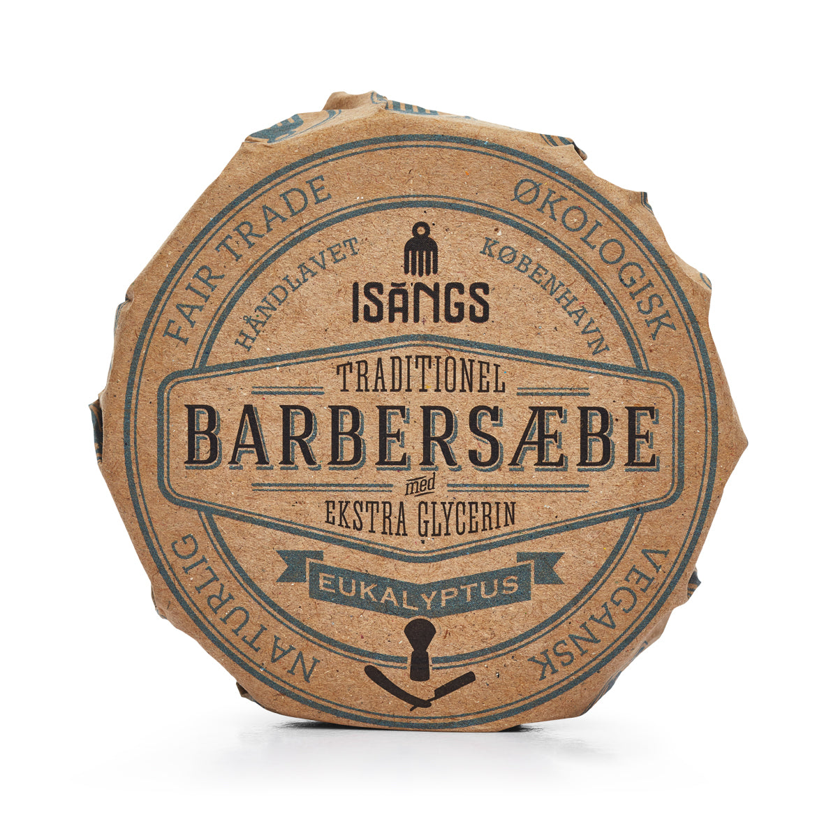 Isangs Traditionel Barbersæbe Eukalyptus