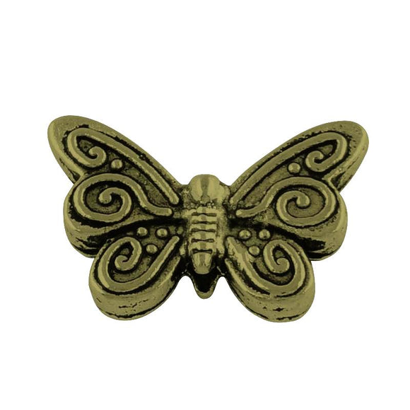 Antique Bronze Butterfly Spacer 17x12mm (20 pcs)