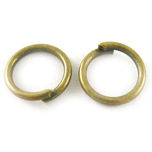 Antique Bronze Open Jump Ring 5mm (200 pcs)