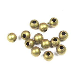 Antique Bronze Round Beads 4mm (200 pcs)