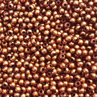 Antique Copper Round 3mm (300 pcs)