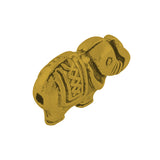 Antique Gold Elephant Spacer 13x9mm (30 pcs)