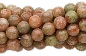 Autumn Jasper Round Beads 6mm & 8mm