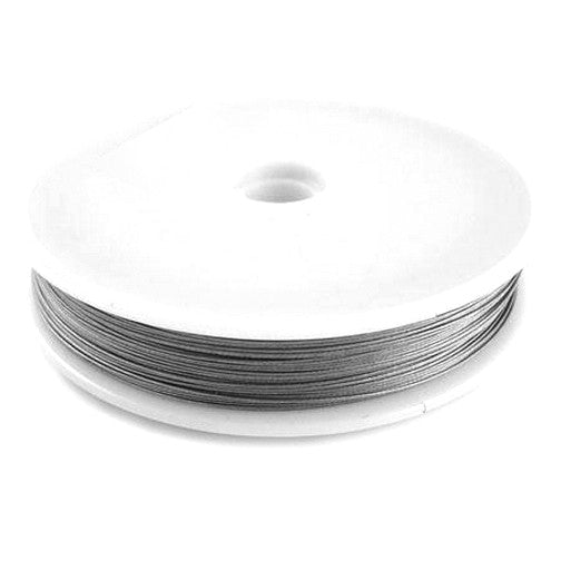 Silver Beading/Stringing Wire 0.45mm