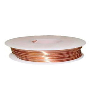 Copper Round Wire 24GA Half Hard 45ft