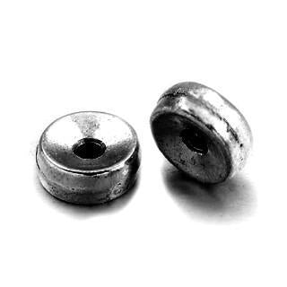 Gun Metal Rondelle 5x2mm (100 pcs)