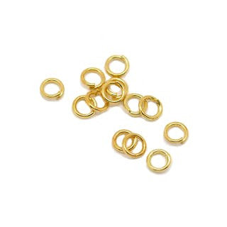 14K Gold Filled Open Jump Ring 4mm (.030) 20GA (40 pcs)