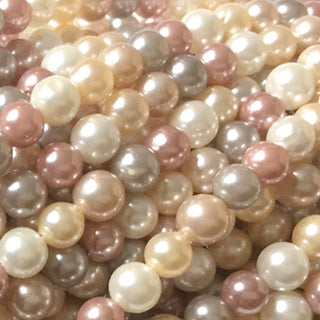 Shell Pearl Mulit-Color #20 Round 4mm, 6mm, 8mm, 10mm