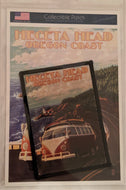 Collectible Patch - Heceta Head Oregon Coast VW Bus