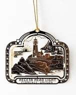 Christmas Ornament - Laser Cut Heceta Lighthouse
