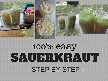 Easy Probiotic Sauerkraut Recipe