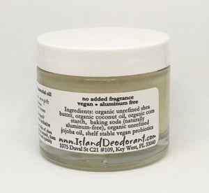 2.5 oz Original Cream Deodorant with Probiotics Container