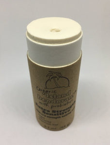 Extra Strength Sensitive Compostable Organic Deodorant