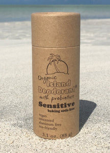 Baking Soda Free Compostable Organic Deodorant Container