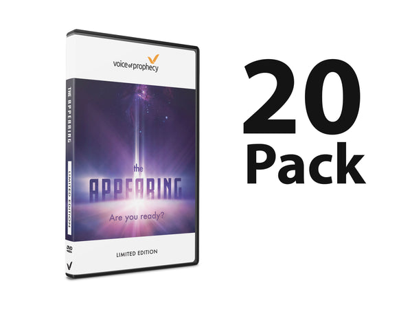 The Appearing DVD (Pack of 20) - Available Now!