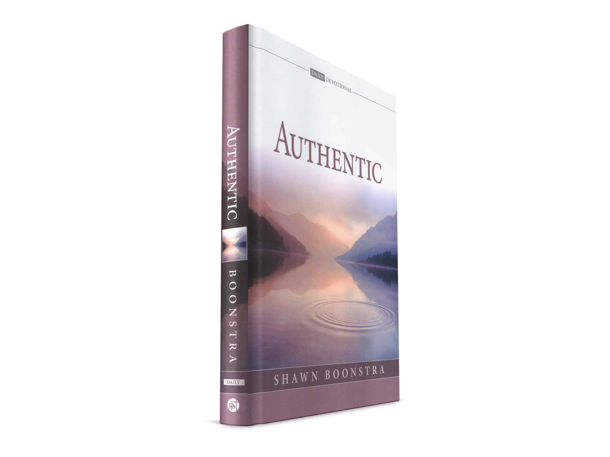 Authentic - 2019 Devotional Book by Shawn Boonstra