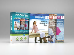 New Discover Bible Study Guides - Set of 26