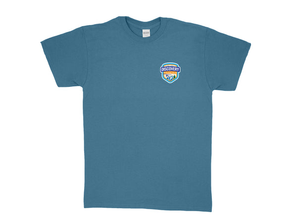 Discovery Mountain Blue T-Shirt