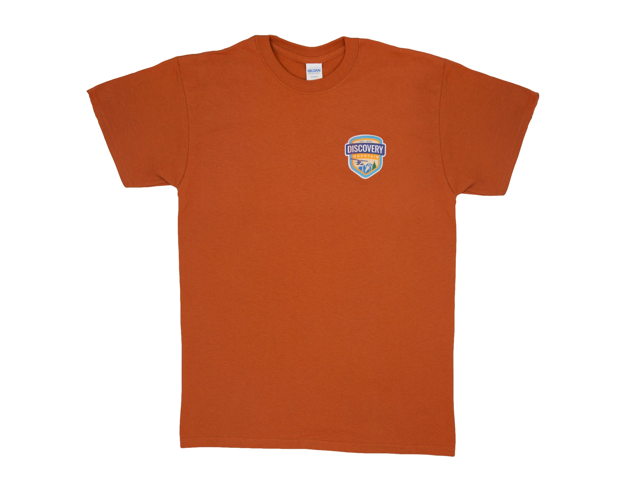 Discovery Mountain Orange T-Shirt
