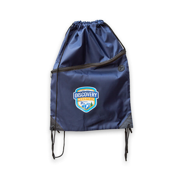 Discovery Mountain Drawstring Bag