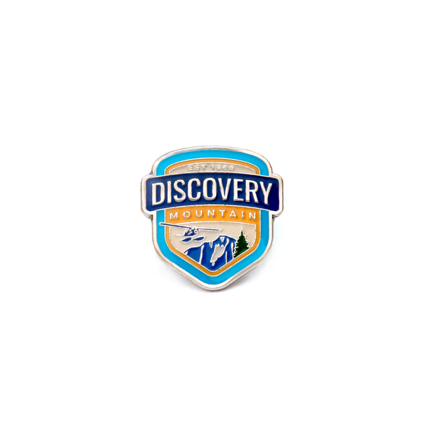 Discovery Mountain Metal Lapel Pin