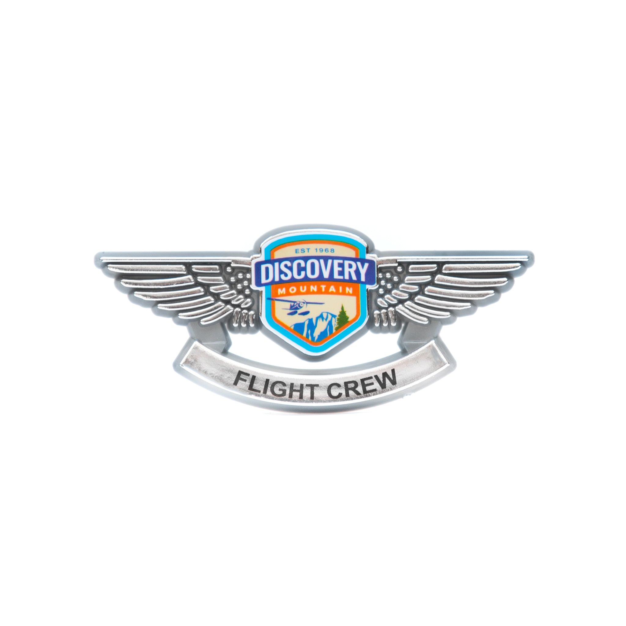Discovery Mountain Flight Crew Pin