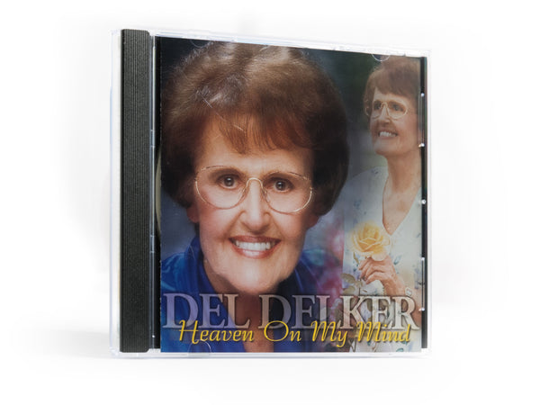Del Delker CD - Heaven on My Mind