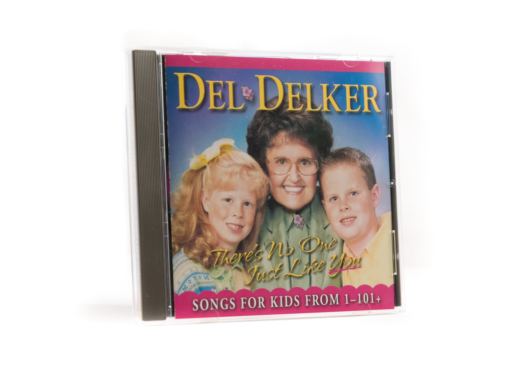 Del Delker CD - There's No One Just Like You