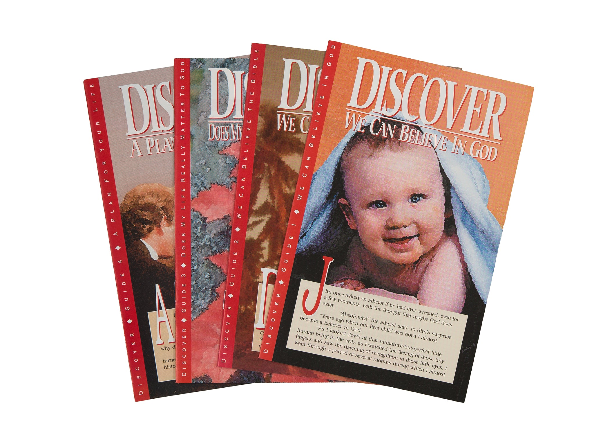 Classic Discover Bible Study Guides - Full Set