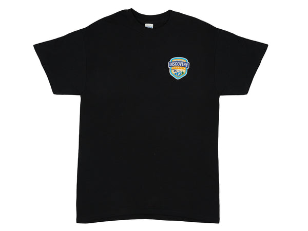 Discovery Mountain Black T-Shirt