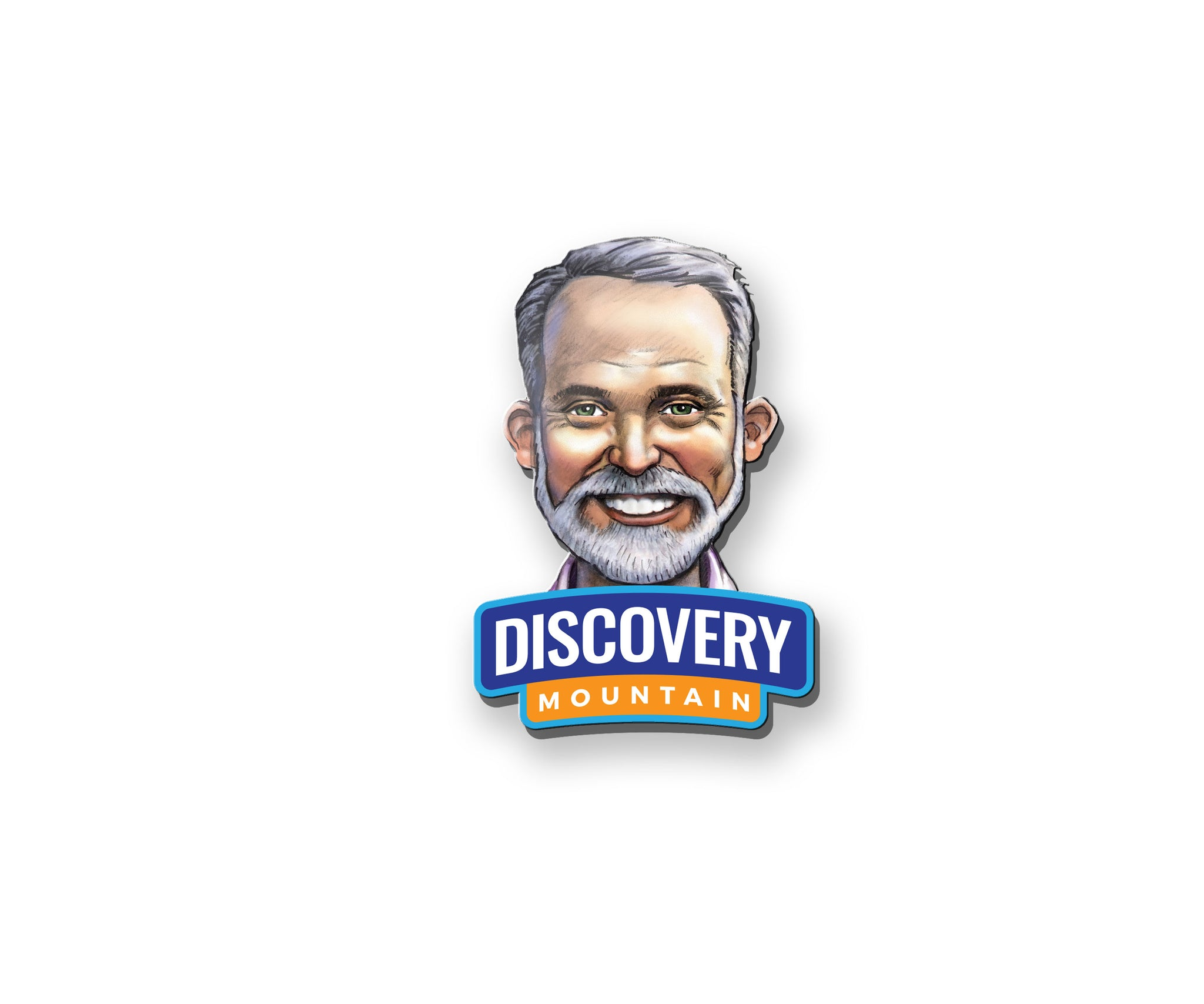 Discovery Mountain Character Pin - Director Doug