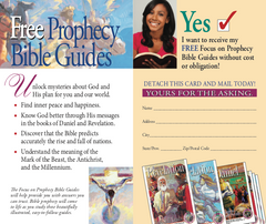 Focus on Prophecy Enrollment Card Pack of 100