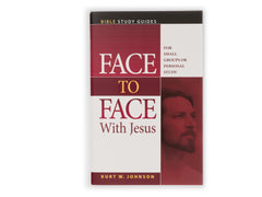 Face to Face With Jesus Bible Study Guides - Book