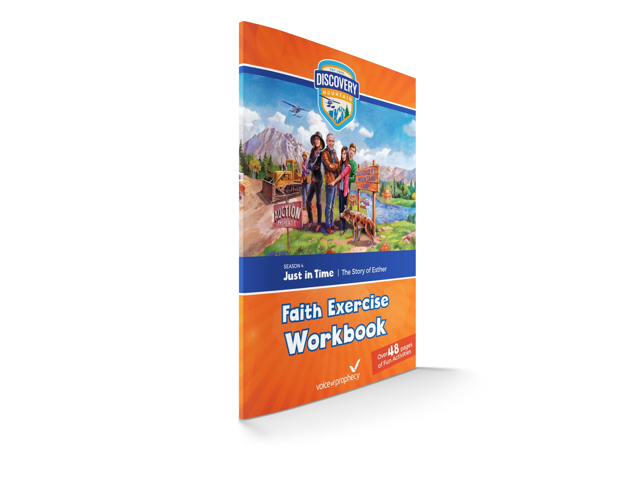 Discovery Mountain Workbook - Season 4