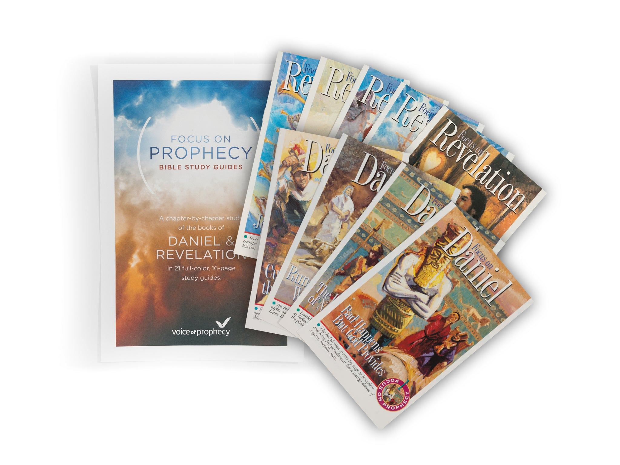 Focus on Prophecy Bible Study Guides - Full Set