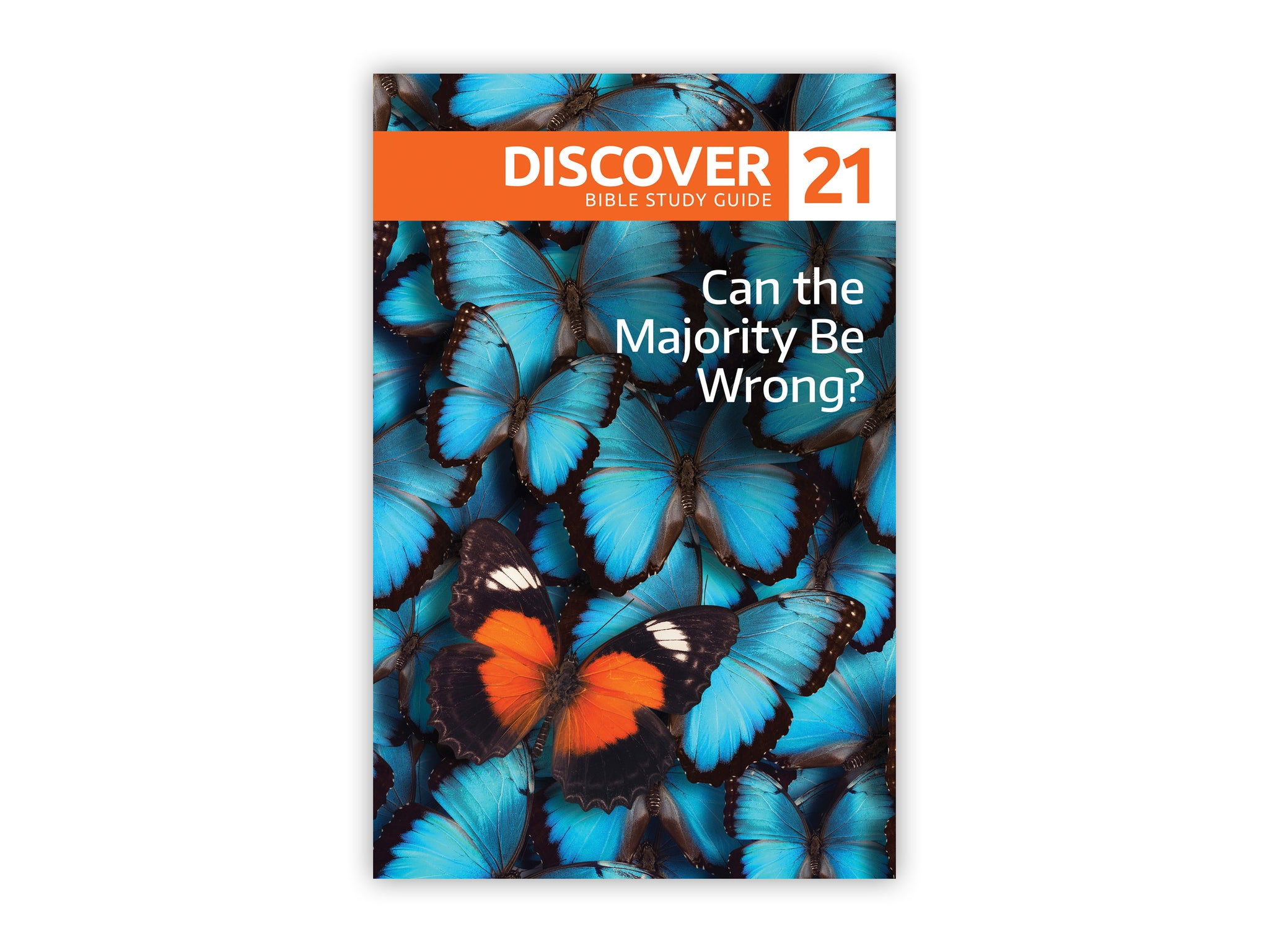 Discover Bible Study Guide #21 - Can the Majority Be Wrong?