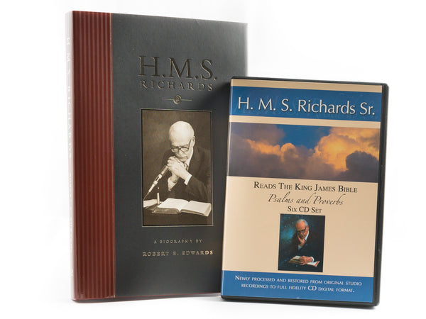 Special H. M. S. Richards Package: Biography Plus Reads Psalms & Proverbs (6-CD Set)