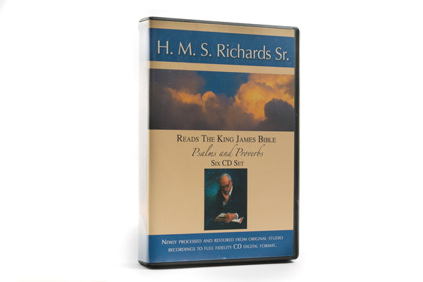 H. M. S. Richards Reads Psalms & Proverbs - 6-CD Set