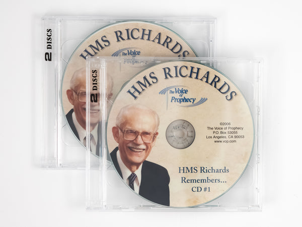H. M. S. Richards Remembers - 4-CD Set