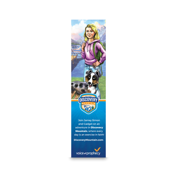 Discovery Mountain Jamey Bookmark