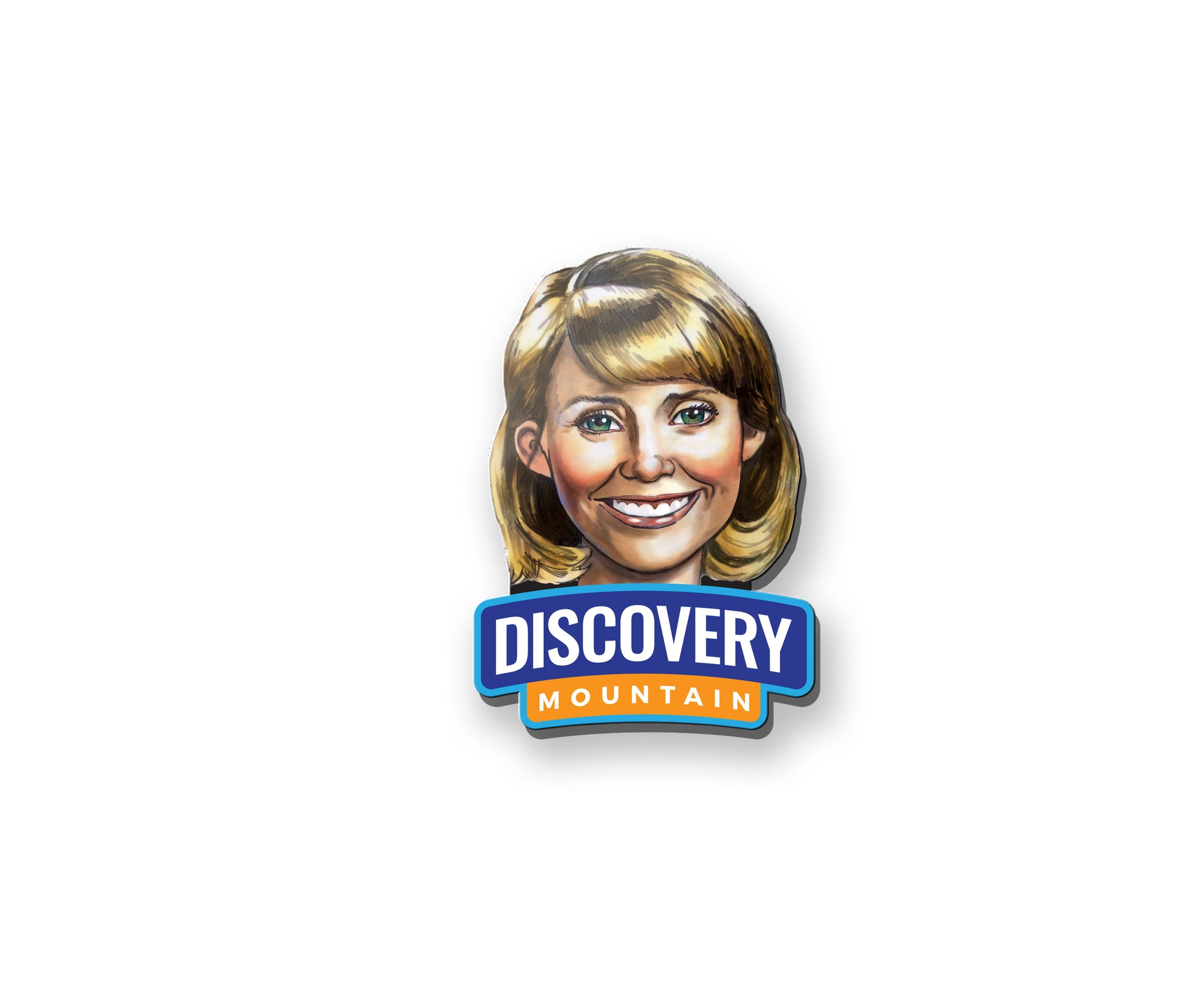 Discovery Mountain Character Pin - Ms. Jean