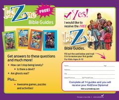 KidZone Enrollment Card Pack of 100