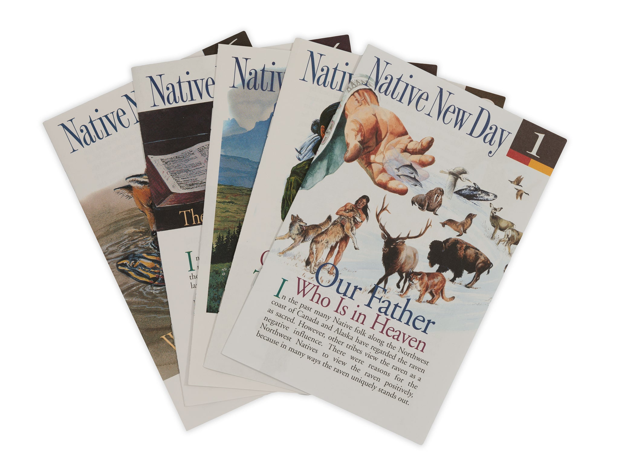 Native New Day Bible Study Guides - Full Set