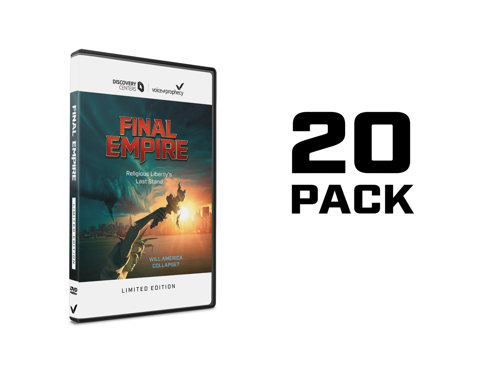 Final Empire DVD (20 Pack)